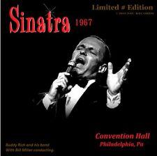 FRANK SINATRA   LIVE AT THE PHILADELPHIA CONVENTION HALL 1967 JULY 13th LTD # CD