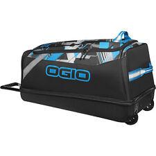 OGIO SHOCK WHEELED BAG MOTOCROSS GEAR BAG HEX BLUE LUGGAGE BAG BIKE UTV ATV