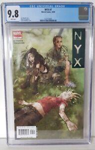 NYX #7 - CGC 9.8 - Josh Middleton Cover - Marvel Comics 2004