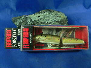 Rapala Jointed Floating Ireland/Finland Spinning Trout Fishing Perch Bass Pike