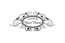 UNMOUNTED PERSONALIZED CREATED BY CUSTOM RUBBER STAMPS C126