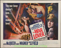 WAR LOVER MOVIE POSTER Folded  22x28 Inch STEVE MCQUEEN ROBERT WAGNER 1962