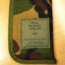 British Army DPM Frog Bayonet Sheath/ Scabbard Dated 2005