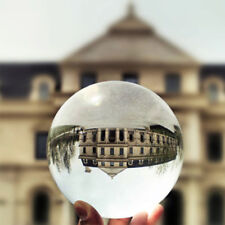 Clear Crystal Ball Sphere 80mm Decoration Photography Lens Photo Prop Lensball