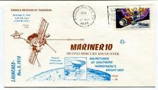 1974 Mariner 10 Second Mercury Encounter Pasadena SPACE NASA JPL USA SAT