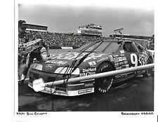 Autographed Bill Elliott NASCAR Auto Racing Photograph