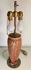 Rookwood Pottery Lamp