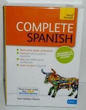 Teach Yourself COMPLETE SPANISH From Beginner To Intermediate Book and CDs
