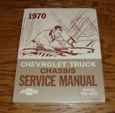 1970 Chevrolet Truck Chassis Service Manual Series 10-60 70 Chevy