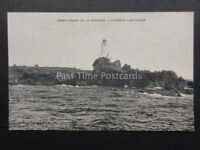 Jersey CORBIERE LIGHTHOUSE Jersey-Phare De La Corbiere - Old Postcard by F.F.