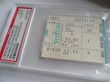 Led Zeppelin Original_1973_Concert Ticket Stub_Psa_Los Angeles Forum