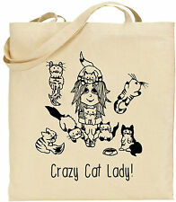Tote Bag - Crazy Cat Lady!