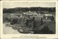 Bourne Buzzard's Bay Cape Cod MA Mac Arnold's Lobster Pound c1920 Postcard