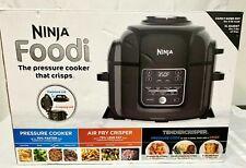 NINJA FOODI TENDERCRISP 8-IN-1 6.5-QT PRESSURE COOKER BLACK OP300 -(FLOOR)
