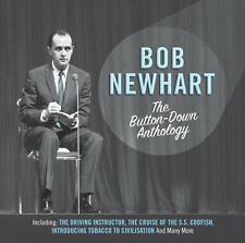 BOB NEWHART THE BUTTON-DOWN ANTHOLOGY - 2 CD BOX SET - COMEDY