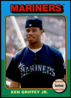 Ken Griffey Jr. 2019 Topps Archives 5x7 Gold #128 /10 Mariners