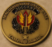 Special Operations Command Central SOCCENT MacDill Air Force Base Challenge Coin