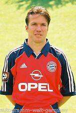 Lothar Matthäus Bayern München 1999-00 seltenes Foto