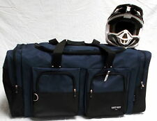 XL Motorcycle atv gear bag moto cross mx off road dirt bike snowmobile navy