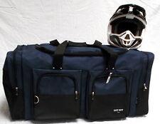 XL Motorcycle atv gear bag moto cross mx off road dirt bike snowmobile navy