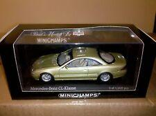Minichamps Mercedes CL600 GOLD 1:43 1008 pcs ****NICE CAR****