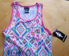 NWT PAPER DOLL SLEEVELESS MAXI DRESS for Girls GEOMETRIC PRINT Size 12, NEW