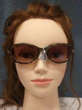 Steve Madden Den Sun Womens Sunglasses Gold Leopard
