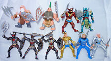 Dragon Knights, Elves, Dwarves, Undead, 10 Plastic Action Figures 90mm, 3,5inch