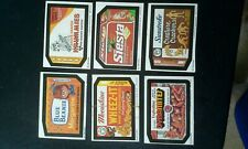 OPEECHEE WACKY PACKAGES 1980 SERIES 4 LOT OF 36 DIFFERENT CARDS IN REAL GOOD CON