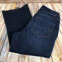 JAG High Rise Boot Leg Womens Size 10 Blue Jeans Dark Wash Denim Pants Stretch