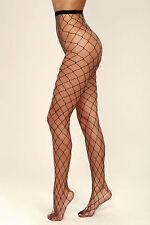 Women Elastic Fishnet Stockings Big Fish Net Tights Pantyhose