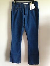 BNWT Ladies Sz 10 Indigo Blue Stretch Denim Target Brand Classic Bootleg Jeans