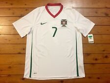 PORTUGAL 2007 CRISTIANO RONALDO #7 ORIGINAL NIKE AWAY SHIRT JERSEY XL