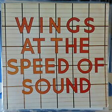 WINGS LP AT THE SPEED OF SOUND 1976 GERMANY VG++/EX