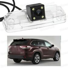 New CCD Rear View Camera Reverse Backup Parking for Toyota Highlander 2014-2016