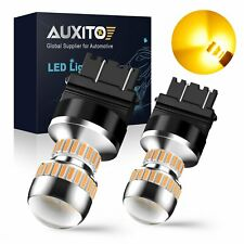 2x 3157/3156 Amber/Yellow High Power LED Turn Signal Sider Marker Light Bulb