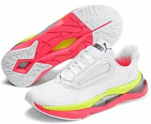 Puma LQDCELL Shatter XT Womens Fitness Training Trainer Shoe White/Pink