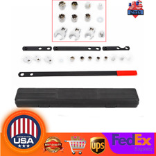 16Pcs Wrench Serpentine Belt Tension Tool Kit Serpentine Belt Service Kit Socket