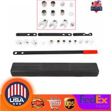 16Pcs Wrench Serpentine Belt Tension Tool Kit Serpentine Belt Service Kit Socket