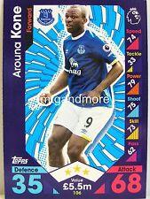 Match Attax 2016/17 Premier League - #106 Arouna Kone - Everton