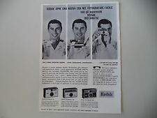 advertising Pubblicità 1963 KODAK INSTAMATIC 50/100/300