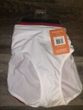 Warners ~ 3-Pair Womens No Muffin Top Polyester Hipster Underwear Panties 3XL/10
