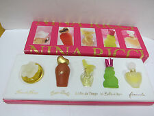 NINA RICCI EDT Set Collection 5 in 1 Box - JUL22