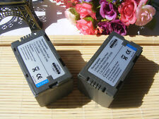 2x Digital Video Camera Battery 2000mAh Replace for Panasonic CGR-D16S CGR-D220