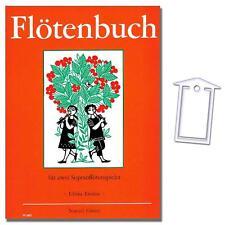 Flötenbuch - Ulrika Emden - mit NotenKlammer - N3483 - 9790204534838