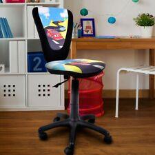Kinder Mädchen Spiel Zimmer Büro Dreh Chef Sessel Stuhl Prinzessin Motiv bunt