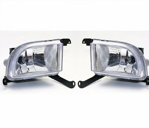 Pair Front Fog Drive Light Lamp for GM Daewoo Chevrolet Lacetti Optra 4DR 03-07