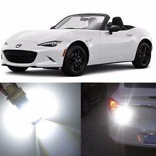 Alla Lighting Back-Up Reverse Light T20 White LED Bulb for 16~17Mazda MX-5 Miata