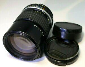 Nikon 135mm f2.8 Ai-s E series Lens  - manual focus telephoto prime