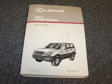 2000 Lexus LX470 SUV Workshop Shop Service Repair Manual Book Vol1 4.7L V8